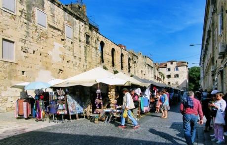 Fruit and Veg Market in Split