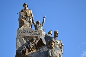 Statue in Canakkale