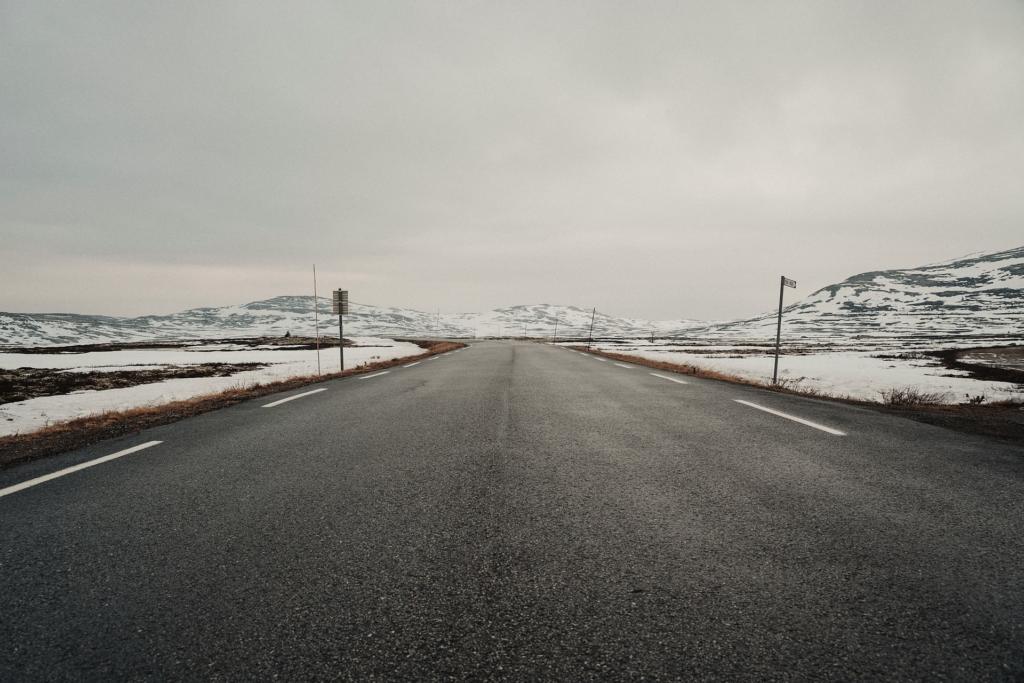 Road through Dombås