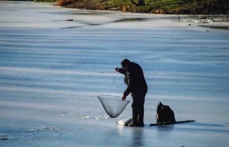 Try out Ice Fishing