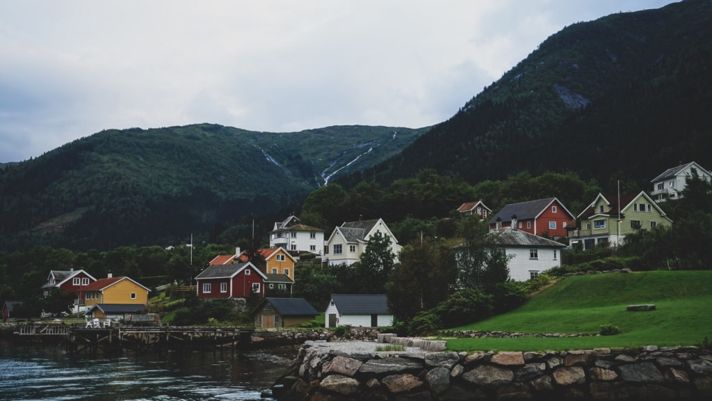 Houses in Balestrand