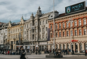 City Square in Zagreb