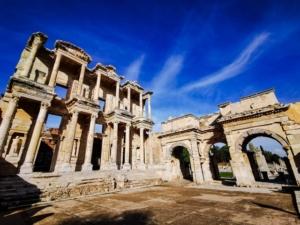 Acarlar, Celsus Library, Ephesus, Meryem Ana Yolu, Turkey