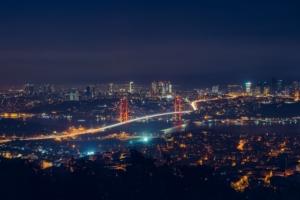 Istanbul City at Night