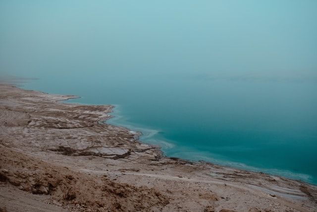 Dead Sea view from above