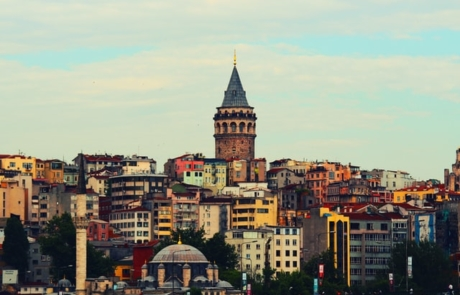 Aerial view of Istanbul