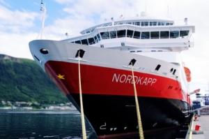 Nordkapp Hurtigruten Ship