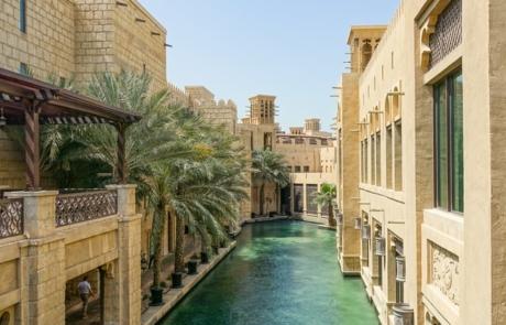 Canal in Dubai