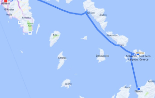 Island Hopping Route