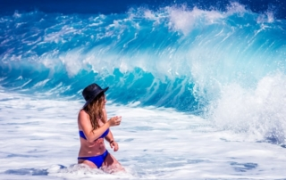 Blue waves of Skiathos