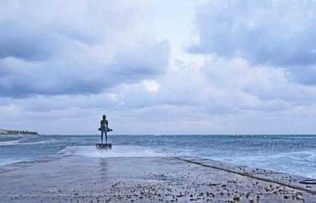 'The Little Fisherman' Statue
