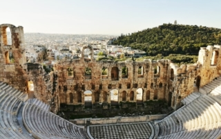 Roman Theatre in Athens