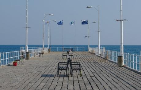 Pier in Limassol