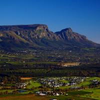 Aerial Shot Cape Town