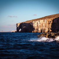 Cliff face of Gozo