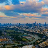 Aerial view of Tel Aviv