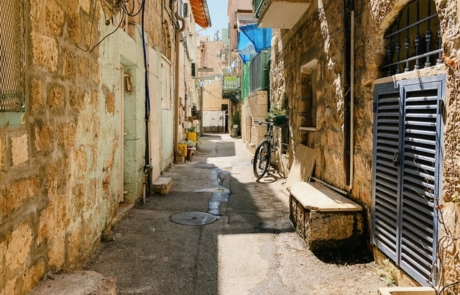 Alley in Jerusalem