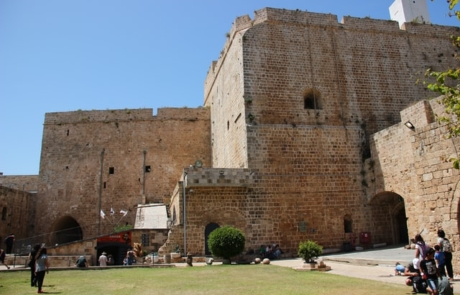 Old building in Acre, Israel