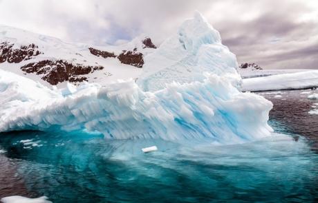 Beautiful ice formation