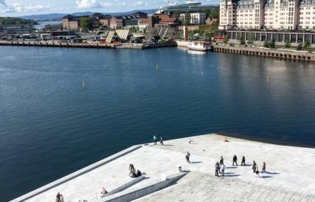 Waterway in Oslo, Norway