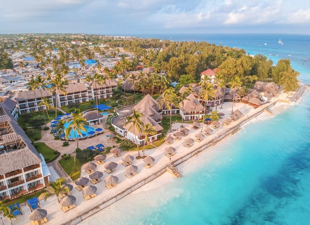 Aerial View of Double Tree Resort by Hilton
