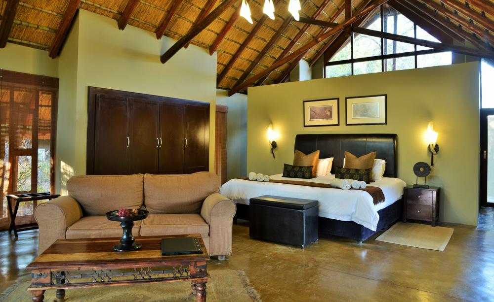 Suite room at Black Rhino Game Lodge