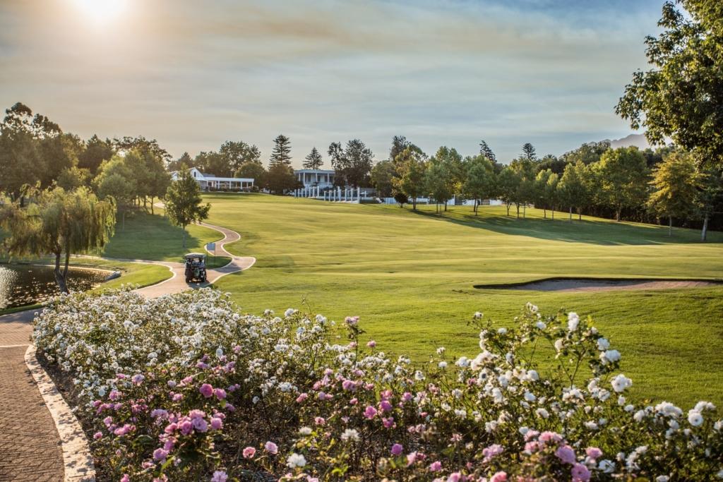 Fairway of a world class golf course