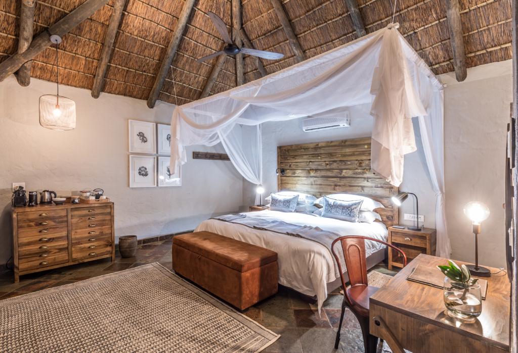Room at a lodge
