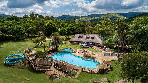 Natal Spa Pool Area