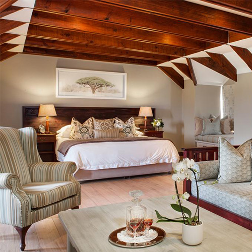 Fancy bedroom